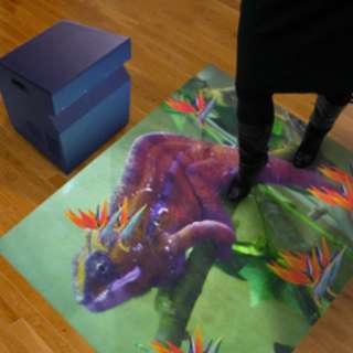 Interactive Projection for kids playschool (YOUTUBE LINK BELOW) **Over 50 game effects By Gesturetek**