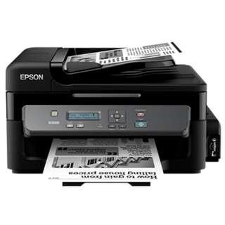EPSON M205 三合一黑白墨水機(SCAN/COPY/PRINT/WIFI) 超低成本打印!