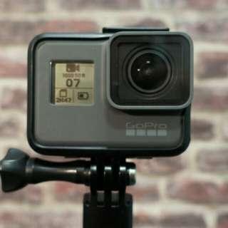 Go Pro Hero 5 Black 4K (used) + accessories + drone
