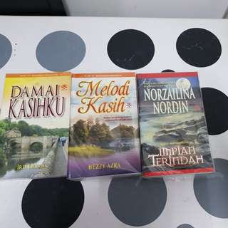 Malay Novels (3 books)