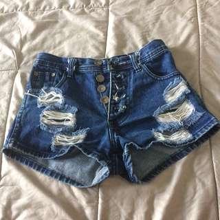 Short pant high waist