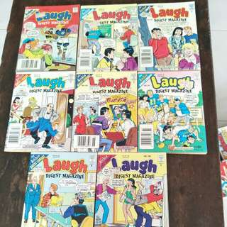 Archie's comics (Laugh Digest Magazine)