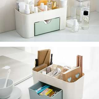 Fabric Organizer Box Storage Container Cosmetic Makeup