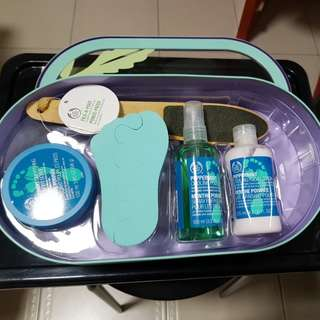 The Body Shop Gift Set - Feet Care
