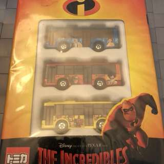 Disney tomica the incredibles 超人特工隊