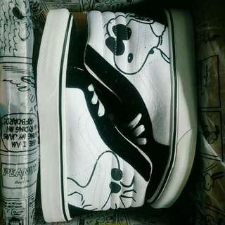 Vans Sk8 Hi X Peanut Snoopy 'Joe Cool'