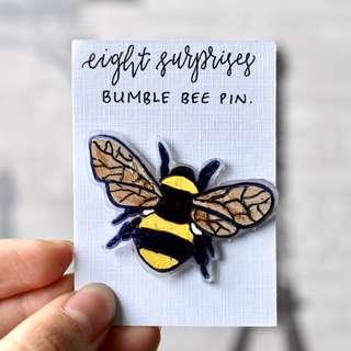 Bumble Bee Pin