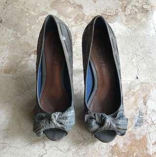 Schutz Ribbon Heels