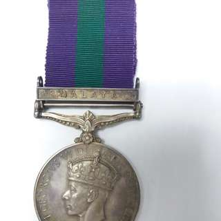 Silver medal federal of malaya police