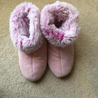 Peter Alexandra fur boots