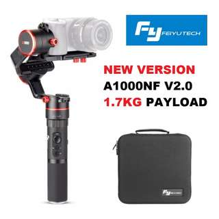 🛒Feiyu A1000 New Version A1000NF (1.7kg Payload) 3-Axis Gimbal Stabilizer