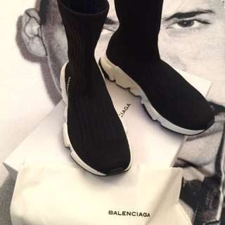 Balenciaga speed high knit