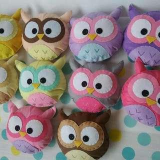 Owlie Plushies