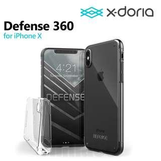 X-doria 道瑞 Defense 360 全透明 全保護 硬殼 四邊保護 iPhone X 用