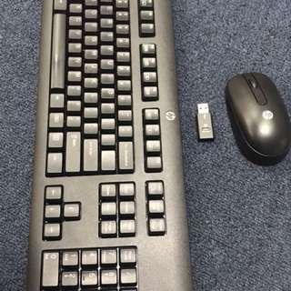 Original Hp wireless keyboard set