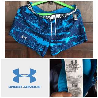 BN UNDER ARMOUR Printed Perfect Pace Women's Running Shorts