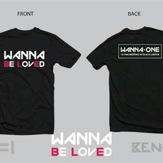 WANNA ONE tshirt