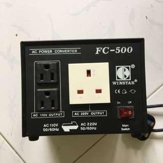 AC Power Converter Step up - Step down