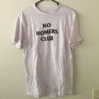 No Homers Club tee