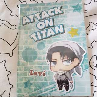 BN Attack on Titan Notebook