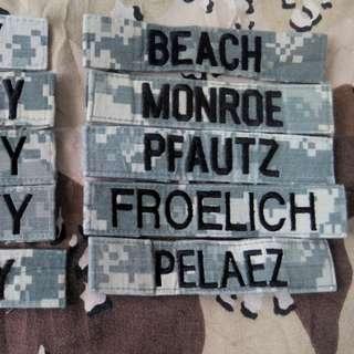 Nama tab issue us army