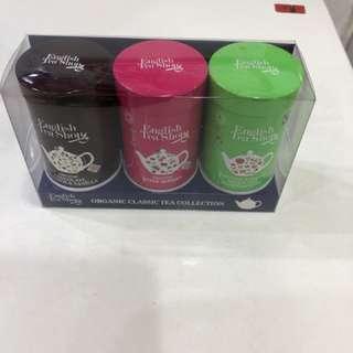 英國直送English Tea Shop茶包迷你3罐裝