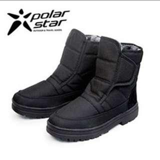 🚚 polarstar男防潑水冰爪雪靴