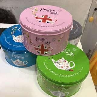 英國直送English Tea Shop茶包禮盒罐裝