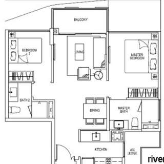 River Isles condo for Rent