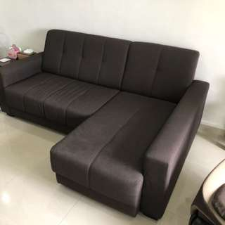 2 pc L shape sofa (Mid March Collection)