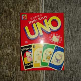 UNO Card Game - Hello Kitty