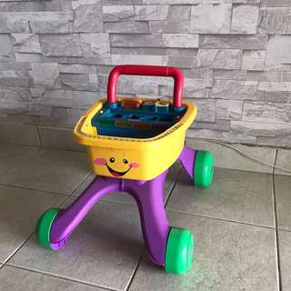 Fisher Price shop and learn walker