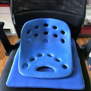 BackJoy Back Support Seat for Adult(Blue)坐垫