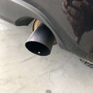 J's racing exhaust for Honda Fit GE