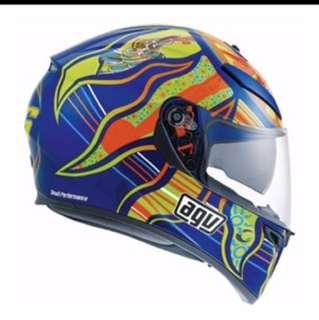 AGV K3 SV Rossi Five Continents Helmet