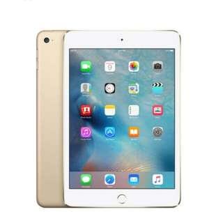 Kredit iPad Mini 4 128gb Tablet Gold Cellular