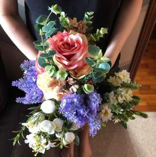 Faux bouquet