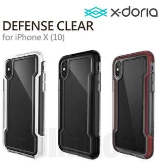 X-doria 道瑞 Defense Clear 3米高 防撞 保護 硬殼 iPhone X 送玻璃貼