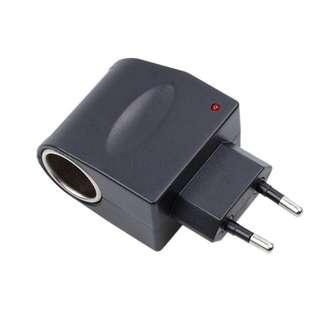 110V-220V AC 12V DC EU Car Power Adapter Converter Socket