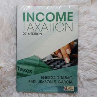 Income Taxation by Tabag & Garcia (2016)