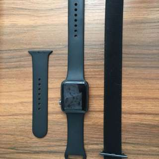 Apple Watch series 1 42mm 黑