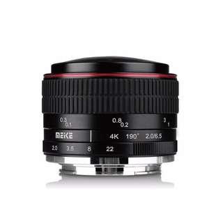 Meike 6.5mm F2.0 EFM Ultra Wide Manual Fisheye Lens Canon Mirorrless