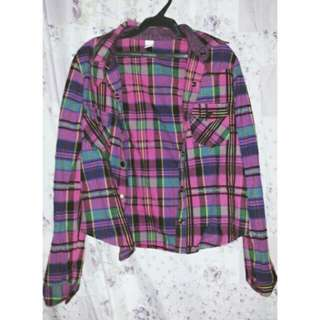 CHECKERED LONGSLEEVE XS TO S