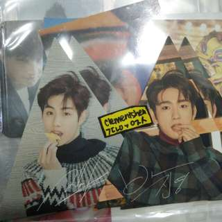 [WTT ONLY] 7 FOR 7 Present Edition First Press Triangle Photocard
