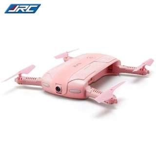 JJRC H37 ELFIE - LOVE FOLDABLE MINI RC SELFIE QUADCOPTER WIFI FPV 720P HD / G-SENSOR / HEADLESS MODE (PINK)