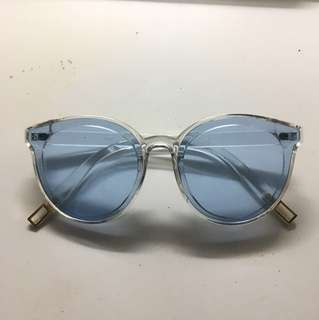 Clear Blue Jelly Sunnies