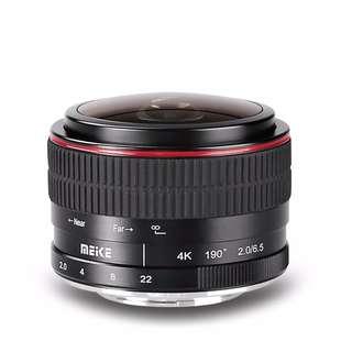 Meike 6.5mm Manual Ultra Wide F2.0 Fisheye Lens for Nikon Mirorrless Camera