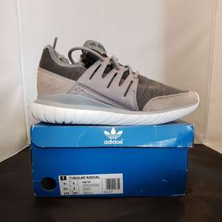 Adidas Tubular Radial in Granit color
