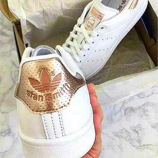 ADIDAS STAN SMITH ROSE GOLD LIMITED EDITION