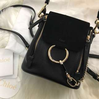 Chloe Faye mini backpack
